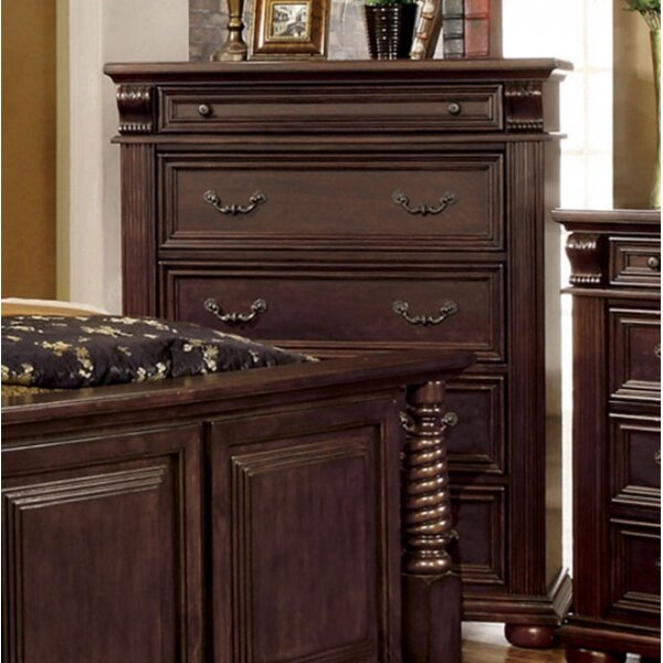 Great price Ellis 5 Drawer Chest By A&J Homes Studio Top Reviews