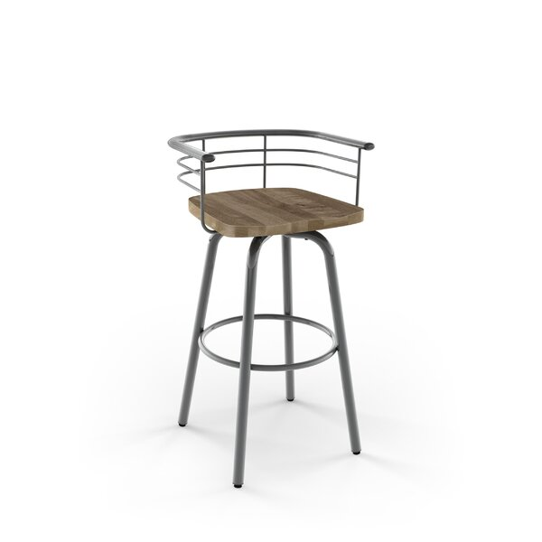 Tungsten 26 Swivel Counter Height Stool by Trent Austin Design