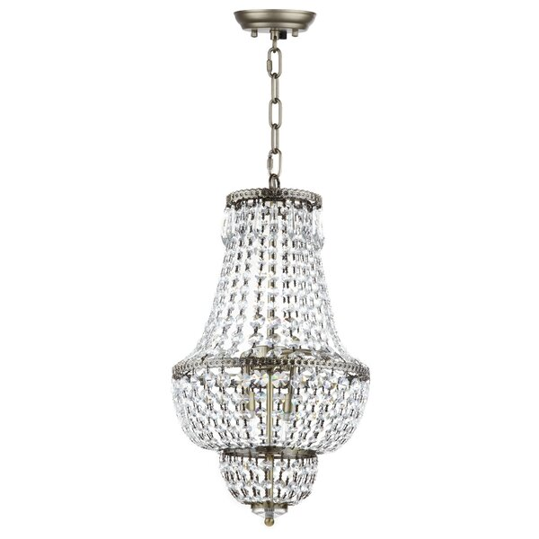 Rutland 4 - Light Unique/Statement Empire Chandelier By House Of Hampton