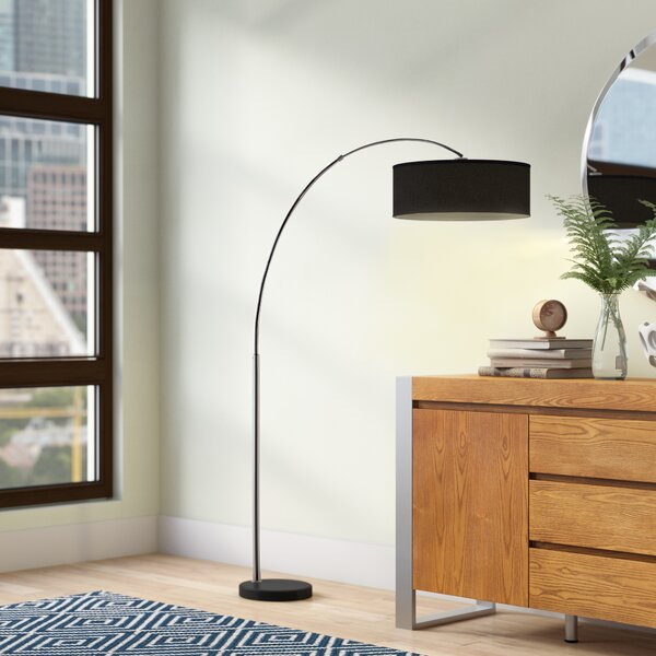 Laredo 81 Arched Floor Lamp by Langley Street
