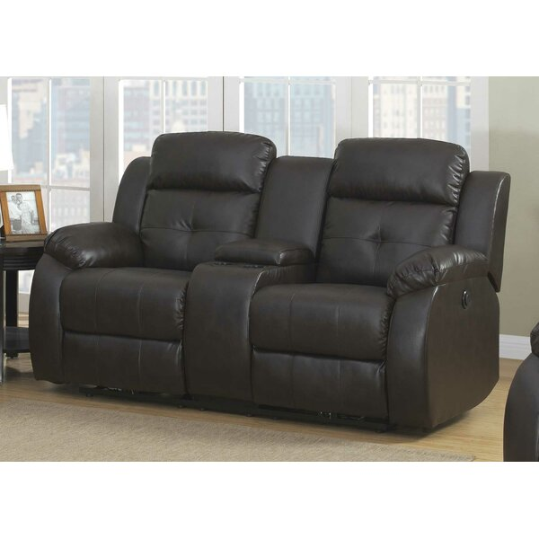 Inexpensive Morron Reclining Pillow top Arms Loveseat by Red Barrel Studio
