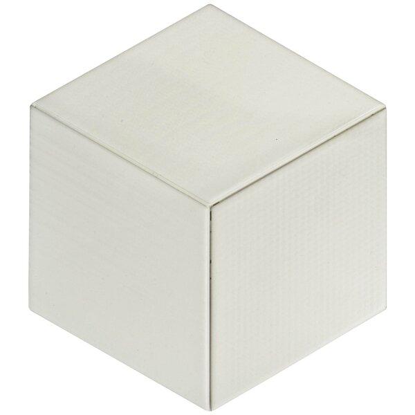 Concrete 8.88 x 10.13 Porcelain Field Tile in Cream by EliteTile