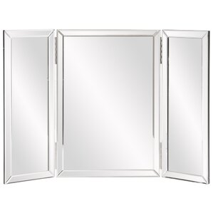 Trifold Rectangle Vanity Mirror