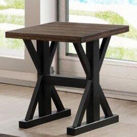 Della End Table by Gracie Oaks