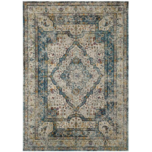 Monserrat Cream Area Rug by Mistana