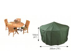 Premier Breathable Circular Patio Dining Set Cover by Bosmere