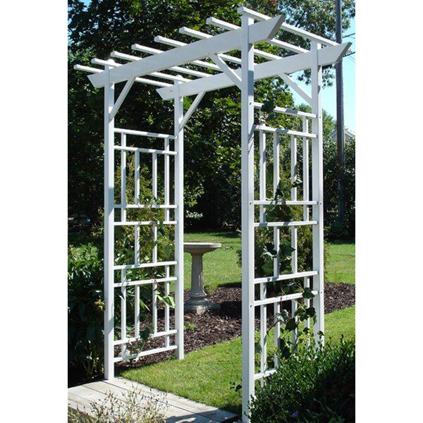 Wellington Vinyl Arbor by Dura-Trel