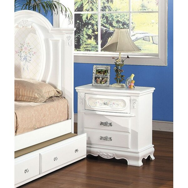 Egbert 2 Drawer Nightstand by Harriet Bee