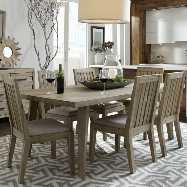 Descartes 7 Piece Dining Set by Laurel Foundry Modern Farmhouse Laurel Foundry Modern Farmhouse