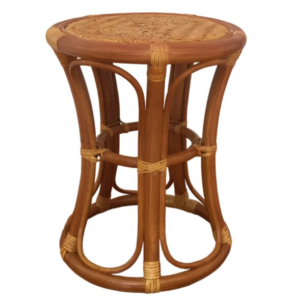Tom Rattan Wicker Stool by Rattan Wicker Home Furniture