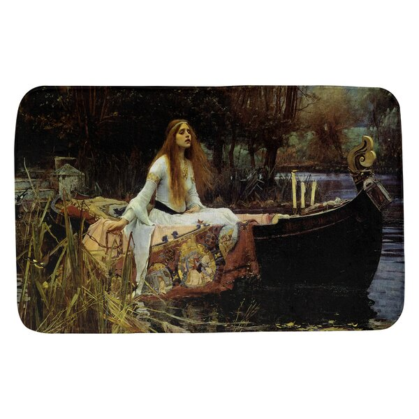 Magers the Lady of Shalott Rectangle Non-Slip Bath Rug