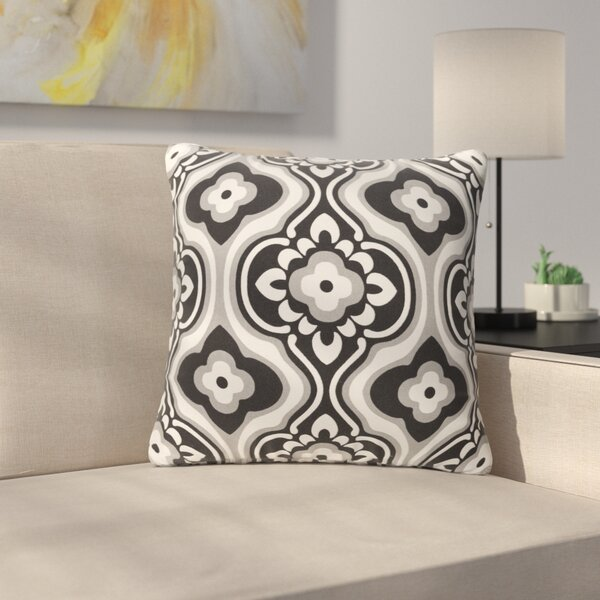 Murrin Blossom Cotton Throw Pillow by Ebern Designs