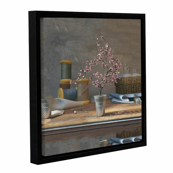 Sew Tiny by Cynthia Decker Framed Photographic Print on Wrapped Canvas by ArtWall