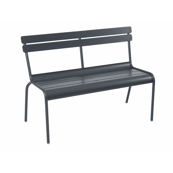 Luxembourg Metal Garden Bench by Fermob