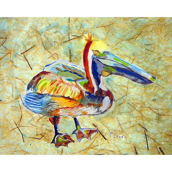 Toth Pelican Placemat (Set of 4) by Bay Isle Home