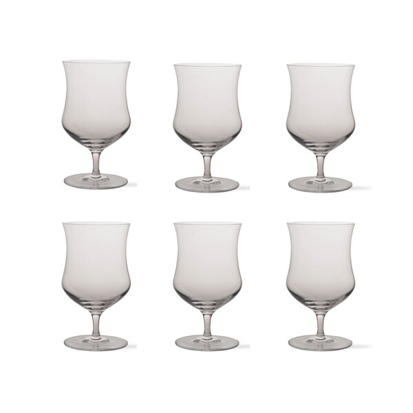 Tag Craft 20 oz. Crystal Pint Glass (Set of 6) by TAG