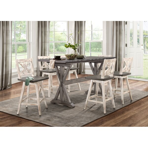Marlon Counter Height Dining Table by Gracie Oaks