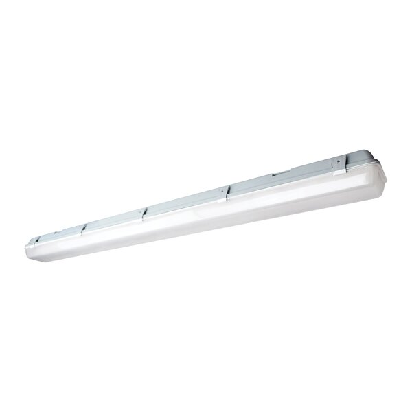 58W LED Vapor Proof Surface Mount with Sensor by Nuvo Lighting