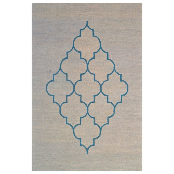 Wool Hand-Tufted Blue/Gray Area Rug by Eastern Weavers