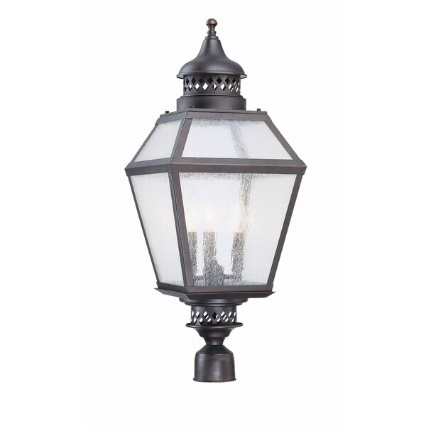 Harshbarger Outdoor 3-Light Lantern Head by Alcott Hill