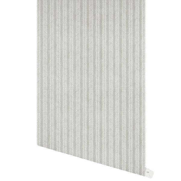Donalsonville Willow 48 L x 24 W Paintable Peel and Stick Wallpaper Panel by Bungalow Rose