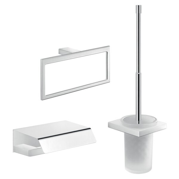 Lanzarote 3 Piece Bathroom Hardware Set by Gedy by Nameeks