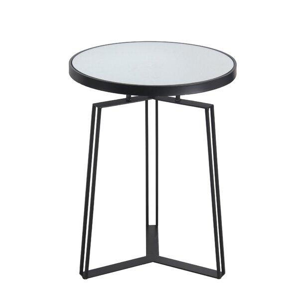 Paulsboro Pedestal End Table By Ebern Designs