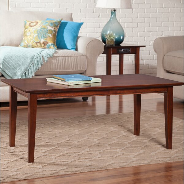 Ithaca Solid Wood Frame Coffee Table By Charlton Home