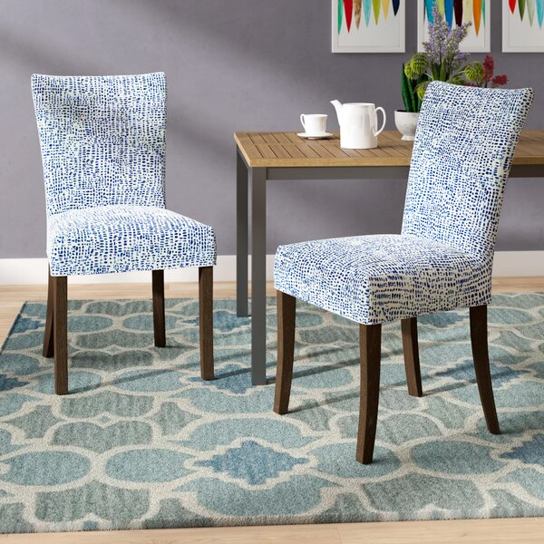 Garavan Upholstered Dining Chair (Set of 2) by Latitude Run