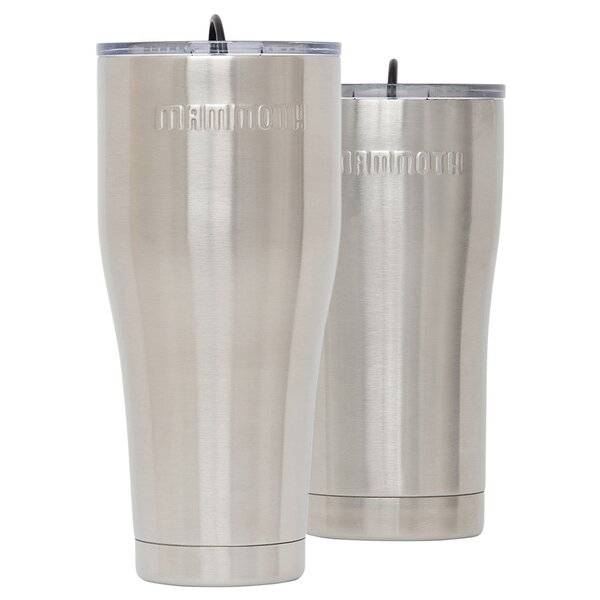 Rover 2 Piece Stainless Steel Travel Tumbler Set by Mammoth Cooler