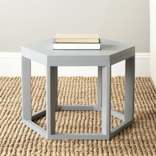 Kizzie End Table by Wrought Studio