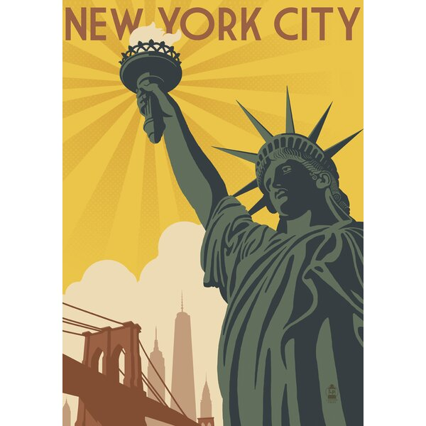 New York Liberty 2-Sided Garden flag by Toland Home Garden