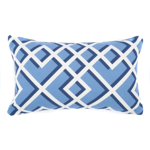 Geometric Outdoor Lumbar Pillow by Jiti