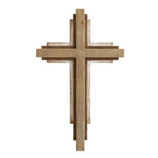 large wooden crosses wayfair
