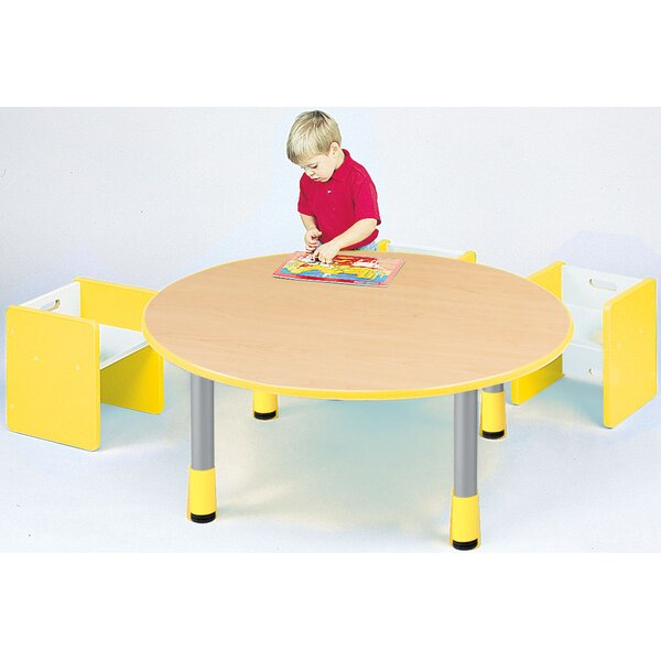 24 Circular Activity Table by TotMate