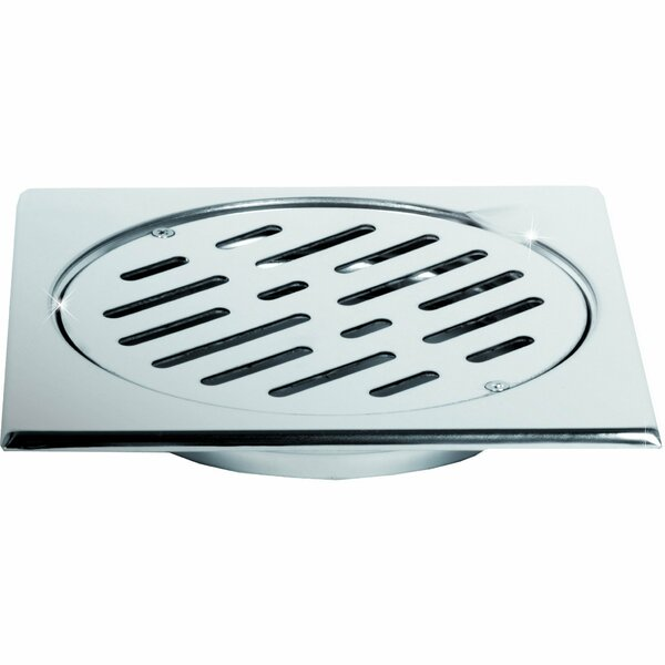 Steel Floor Grid Shower Drain by AGM Home Store
