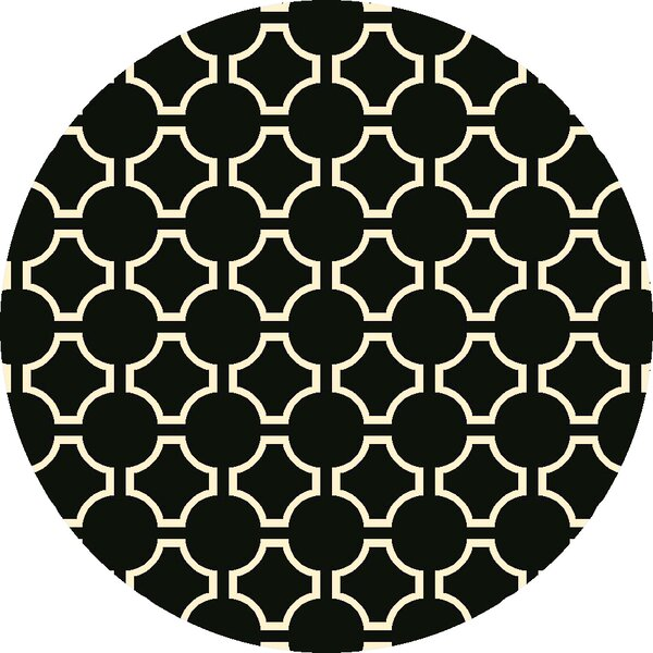 Fallon Coal Black Area Rug by Jill Rosenwald