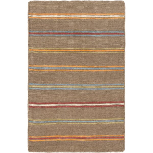Nashville Hand-WovenBrown Area Rug by Alcott Hill