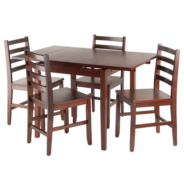 Shaws 5 Piece Extendable Dining Set by Alcott Hill