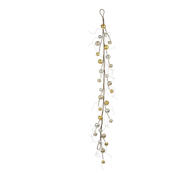 Christmas Jingle Bell Garland (Set of 2) by The Holiday Aisle