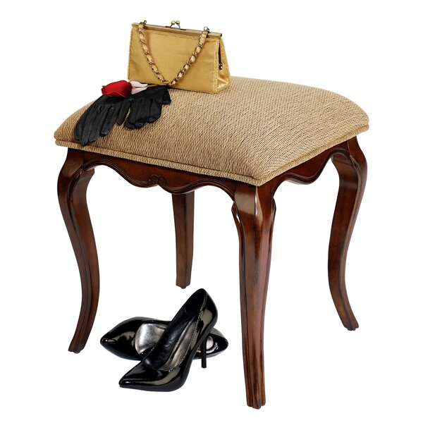 Lady Guinevere Vanity Stool by Design Toscano