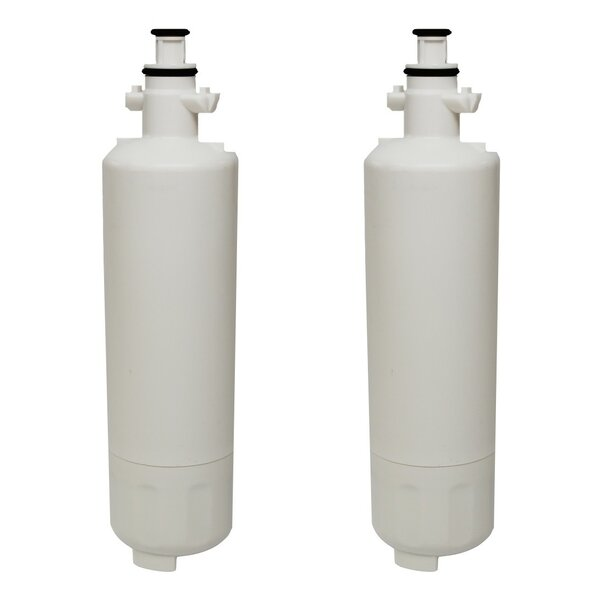 Refrigerator/Icemaker Water Purifier Filter (Set of 2) by Crucial