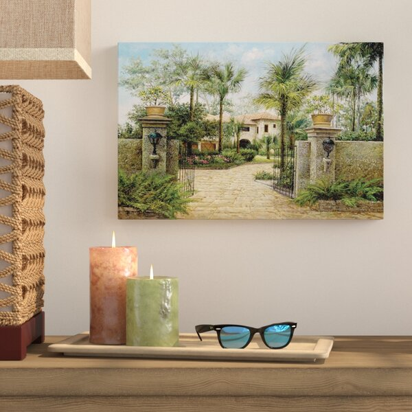 Boca Retreat Photographic Print on Wrapped Canvas by Bay Isle Home