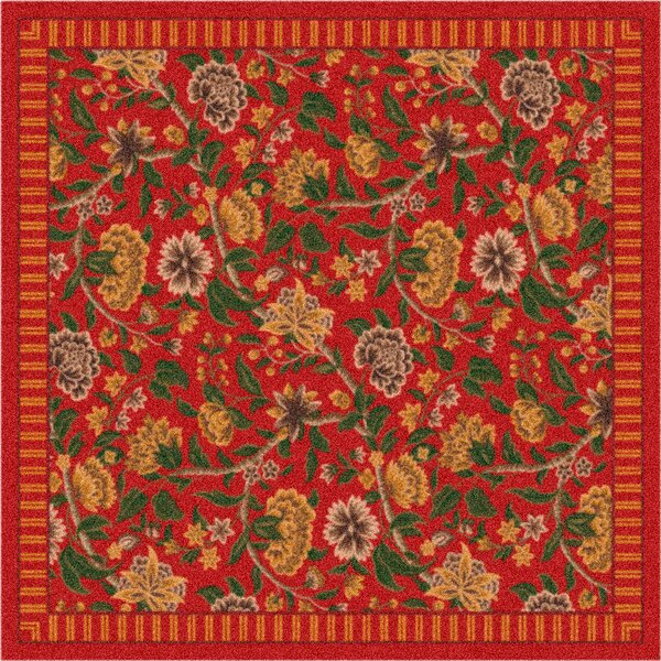 Pastiche Vachell Indian Red Area Rug by Milliken