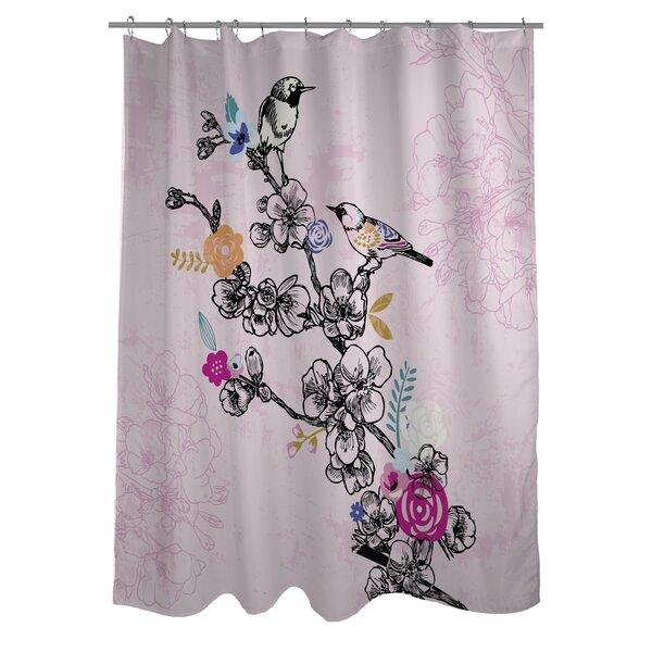 Birds Shower Curtain by One Bella Casa