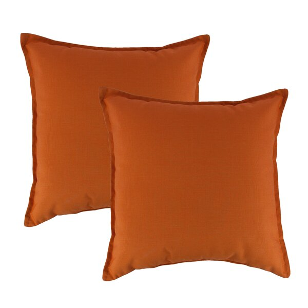 Outdoor Sunbrella Throw Pillow (Set of 2) by Austin Horn Classics