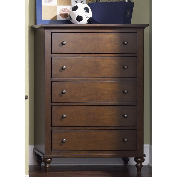 Middlesbrough 5 Drawer Chest by Harriet Bee