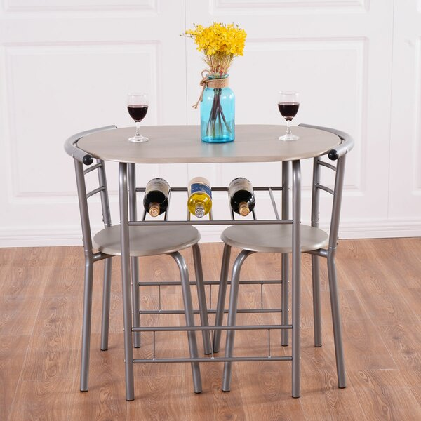Strock 3 Piece Dining Set by Winston Porter