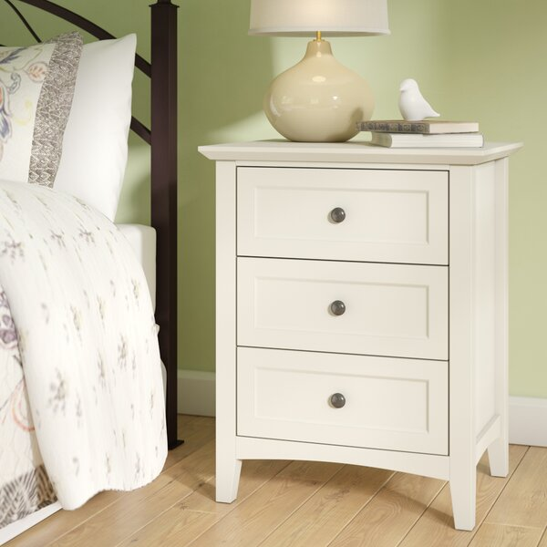 Zeppelin 3 Drawer Nightstand by Mistana
