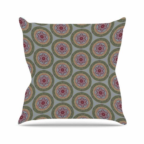 Rachel Watson Lucrezia Borgia Brocade Outdoor Throw Pillow by East Urban Home
